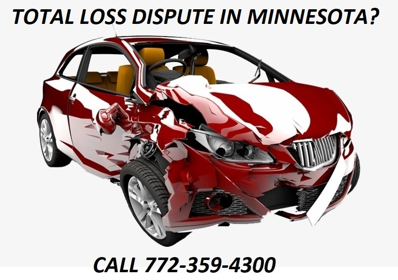 TOTAL LOSS DISPUTE IN MINNESOTA